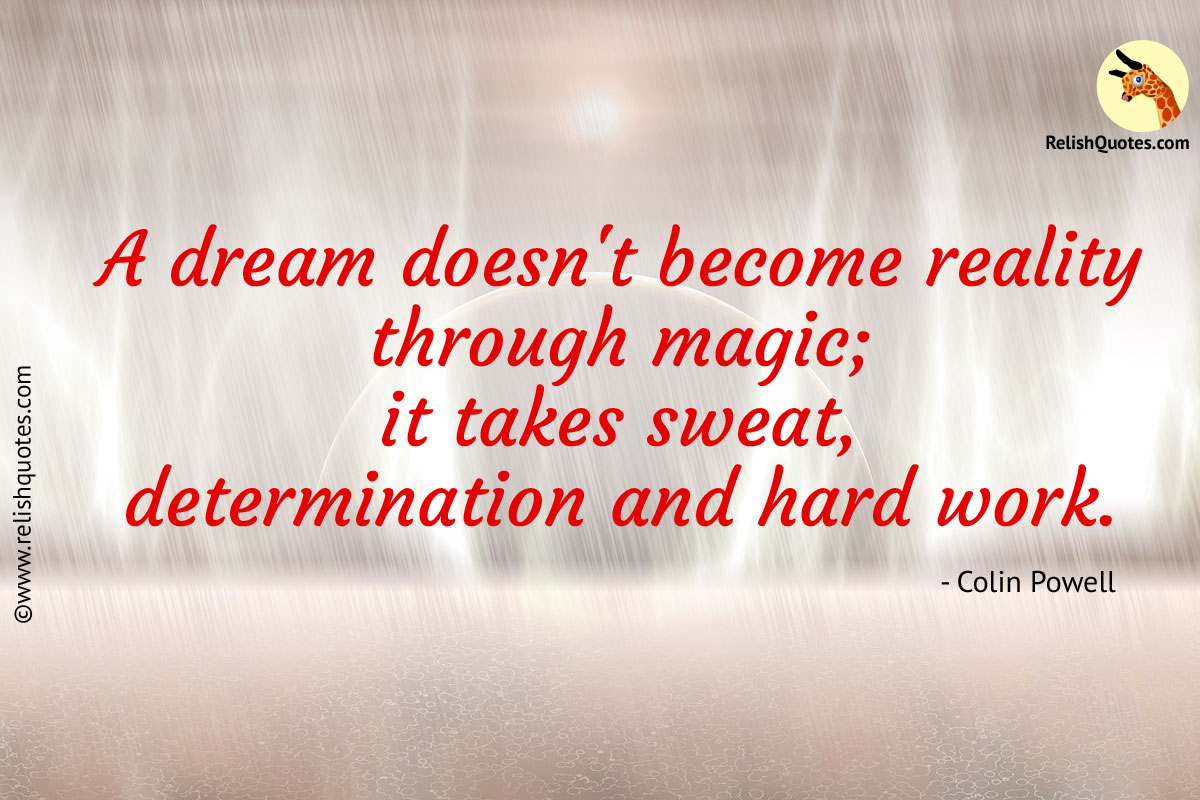 Inspirational Quote about Dream and Success