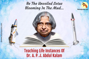 What Can We Learn From Dr. A. P. J. Abdul Kalam?