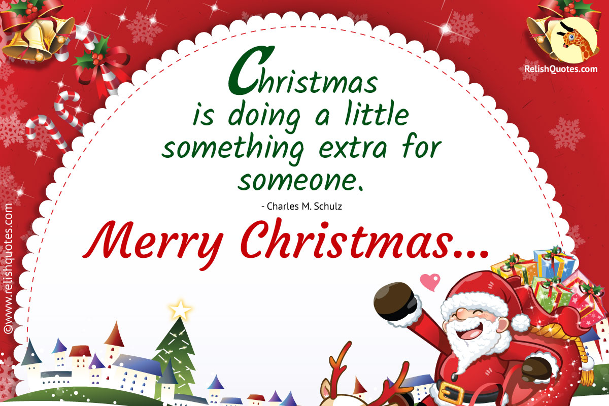 Merry Christmas Quotes For Wishes