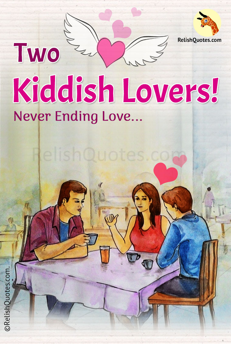 Romantic Love Story - Two Kiddish Lovers