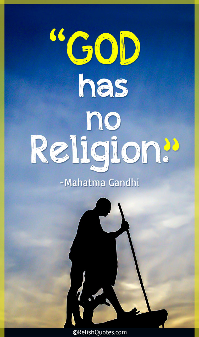 Quote by Mahatma Gandhi