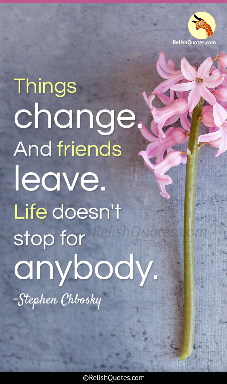 Stephen Chbosky Quotes