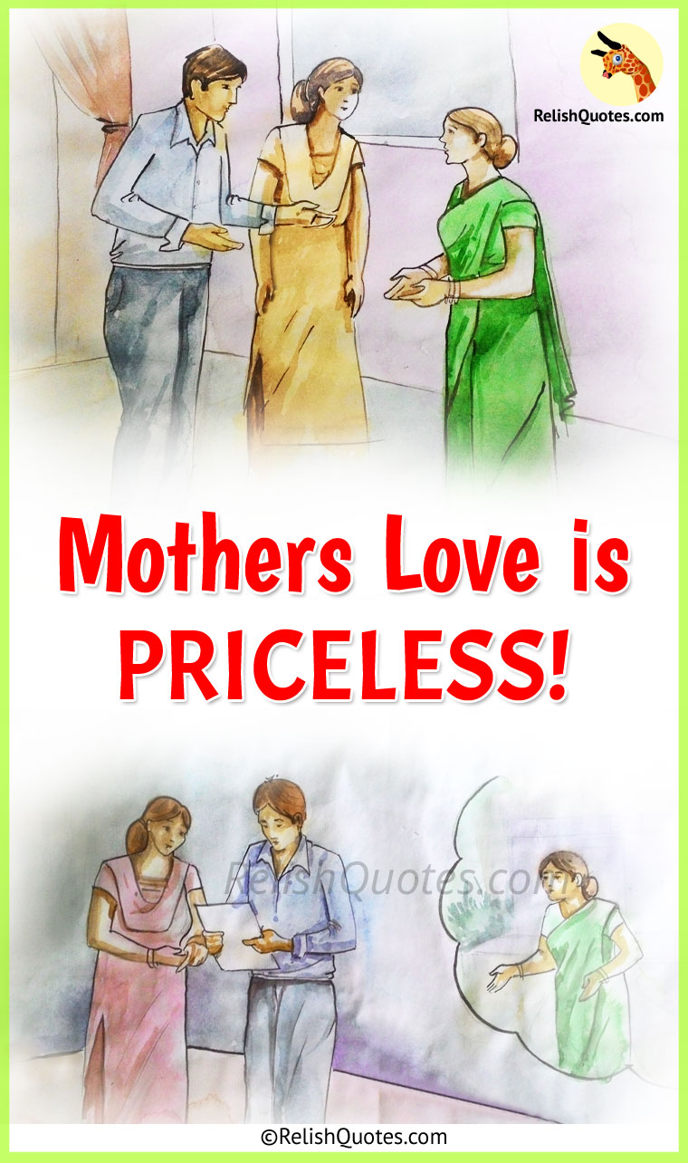 "Mother's Day Story : ""Mothers Love is Priceless!"""